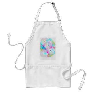 Multicolor Party Background Adult Apron