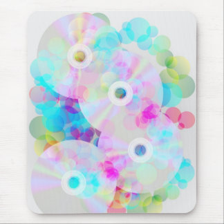 Multicolor Party Background Mouse Pad