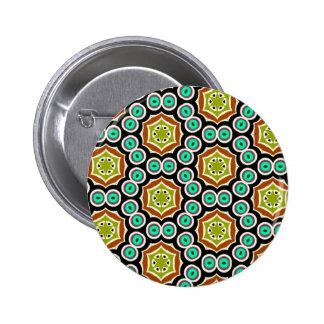 Multicolor pattern button