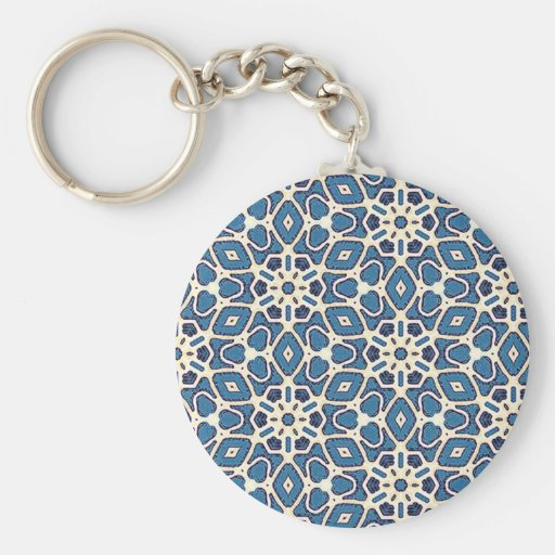 Multicolor pattern Gift Item Basic Round Button Keychain