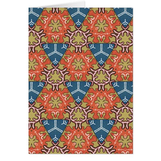 Multicolor pattern Gift Item Card