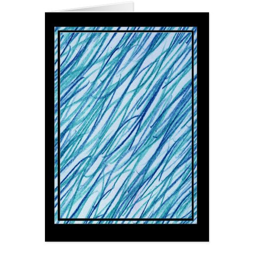 Multicolor pattern Gift Item Greeting Card