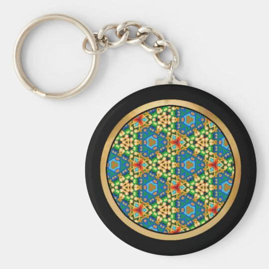 Multicolor pattern Gift Item Keychain