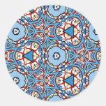 Multicolor pattern Gift Item Sticker