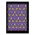 Multicolor pattern greeting cards