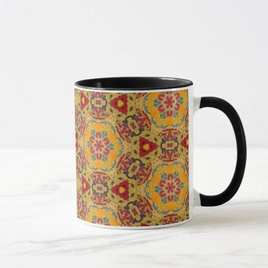 Multicolor pattern mug