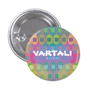 Multicolor Pattern Vartali Round Button
