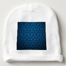 Multicolor patterns textures design. baby beanie