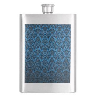 Multicolor patterns textures design. flask