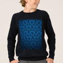 Multicolor patterns textures design. sweatshirt