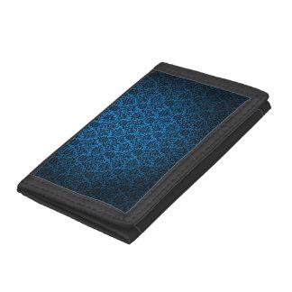 Multicolor patterns textures design. trifold wallet