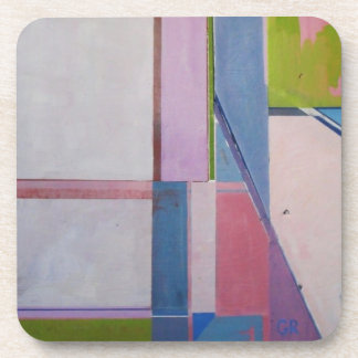 Multicolor pink coaster set