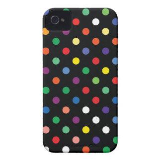 Multicolor Polka Dot Blackberry Bold Case