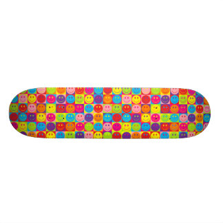 Multicolor Pop Smileys Skateboard Decks