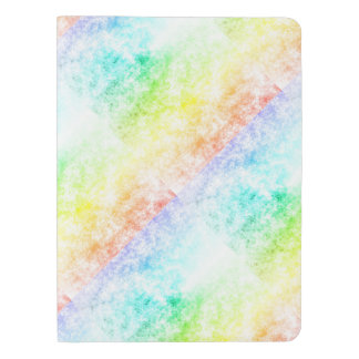 Multicolor Rainbow Clouds Customize or Stay Cloudy Extra Large Moleskine Notebook