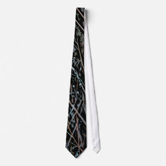 Multicolor Reeds at Twilight Tie