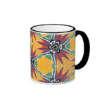 Multicolor Repeat Pattern Products Coffee Mugs