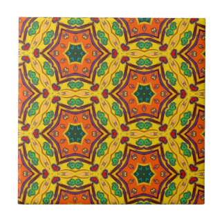 Multicolor Repeat Pattern Products Tile