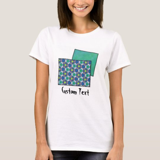 Multicolor repeat pattern T-Shirt