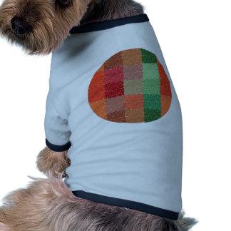 MultiColor Retro Vintage Square. Colorful Firework Pet Shirt