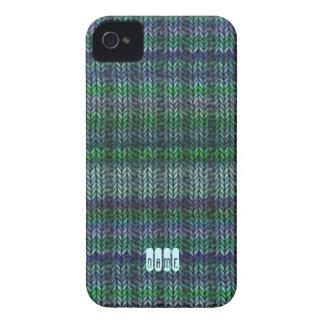 Multicolor Ribknit iPhone 4 Case-Mate Case