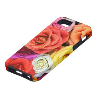 Multicolor Roses Pattern Design iPhone 5 Cover