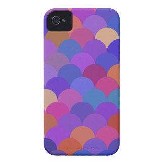 Multicolor Scales Pattern 2 iPhone 4 Case-Mate Case