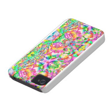 Multicolor Shamrock St. Patrick's Day Case-Mate iPhone 4 Case