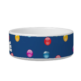 Multicolor Shiny Polkadot Confetti DIY Background Bowl