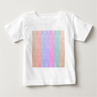 MultiColor Silken Engraved Look Patterns Baby T-Shirt