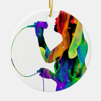 MULTICOLOR SINGER PRODUCTS CHRISTMAS ORNAMENTS