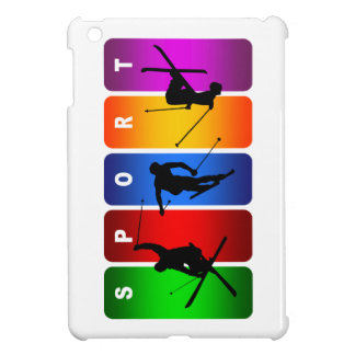Multicolor Ski Emblem iPad Mini Case
