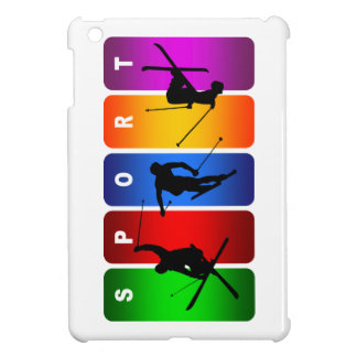 Multicolor Ski Emblem iPad Mini Cover