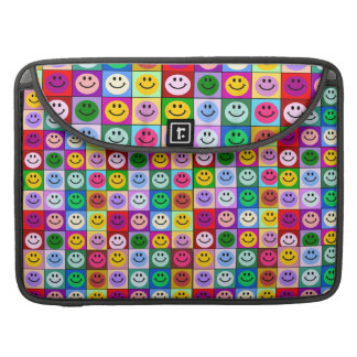Multicolor Smileys Tiled Pattern Macbook Pro cover Sleeve For MacBook Pro