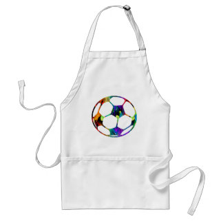 MULTICOLOR SOCCER BALL PRODUCTS APRON