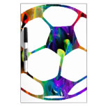 MULTICOLOR SOCCER BALL PRODUCTS DRY ERASE WHITEBOARDS