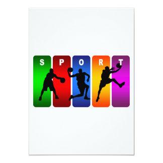 Multicolor Soccer Emblem Card