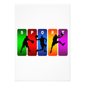 Multicolor Soccer Emblem Invitations