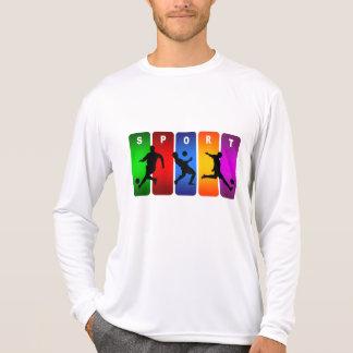 Multicolor Soccer Emblem T-Shirt