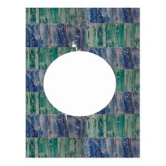 Multicolor Sparkle n Silken Rounds n Ovals Post Cards