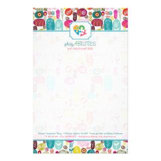 Multicolor Sparkles & Glitter Pattern 3 Stationery