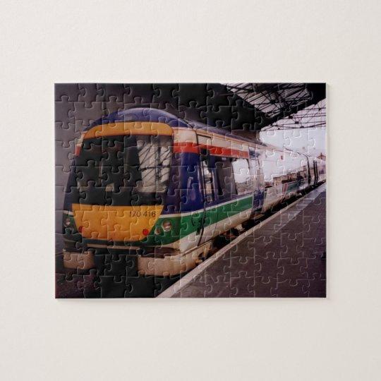MultiColor Speed Train Puzzle