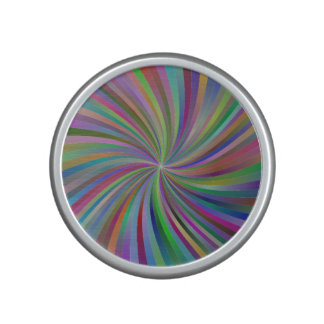 Multicolor spiral speaker