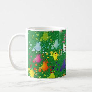 Multicolor Splats Mug