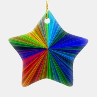 Multicolor Star Christmas Tree Ornament