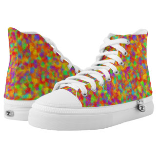 Multicolor String Theory High-Top Sneakers