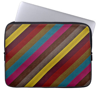 MultiColor Stripe Pattern 2 Laptop Sleeve