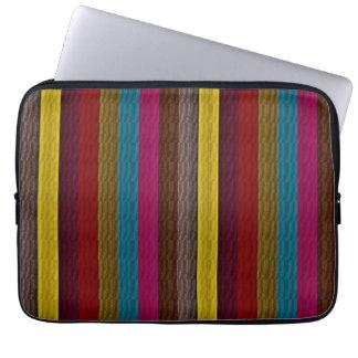 MultiColor Stripe Pattern 2 Laptop Sleeve