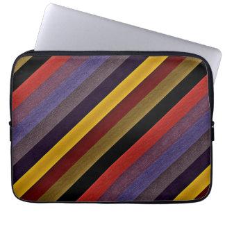 MultiColor Stripe Pattern Computer Sleeve