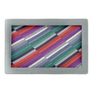 Multicolor Stripes Belt Buckles